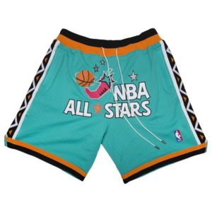 1996 All-Stars East Shorts (Teal)