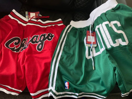 Chicago Bulls Red  Basketball Just Don Shorts Chicago Logo photo review
