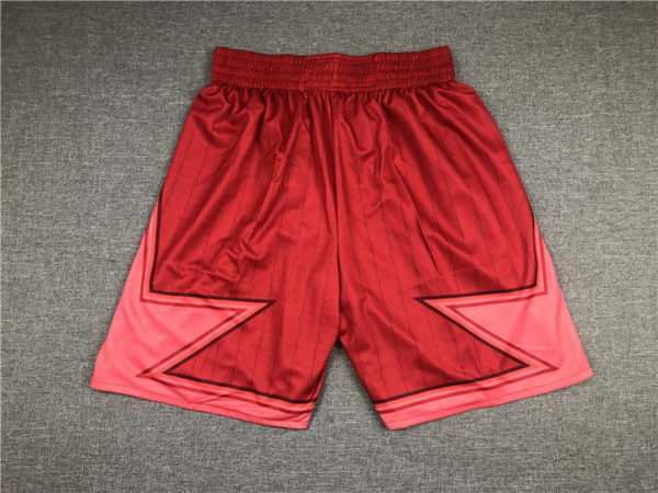 All Star 2020 Basketball Shorts red 1