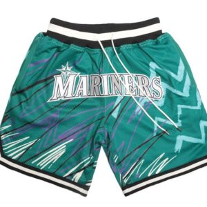 Seattle Mariners Sublimated Shorts Teal