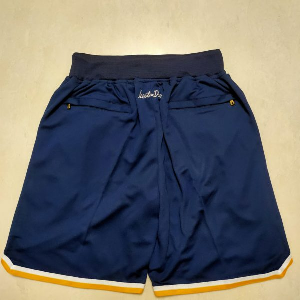 Houston Astros Just Don Home Run Derby Navy Shorts back
