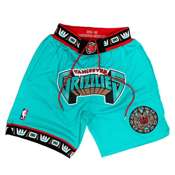 Vancouver Grizzlies 1995-96 Just Don 90s Shorts